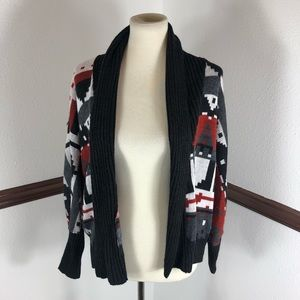 Woman's Woolrich Open Front cardigan size M